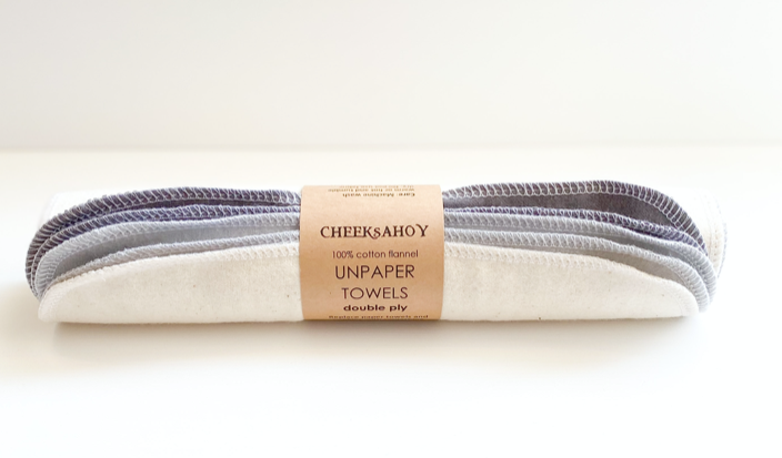 Cheeks Ahoy Double Ply Unpaper Towels