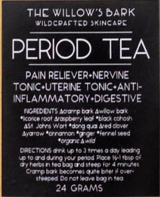 Period Tea by The Willow's Bark