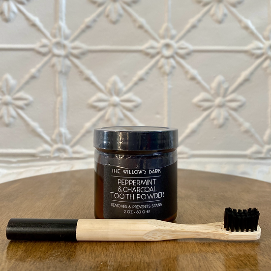Peppermint and CharcoalTooth Powder