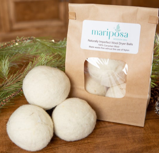 Mariposa Woolen Mill Dryer Balls Set of 3