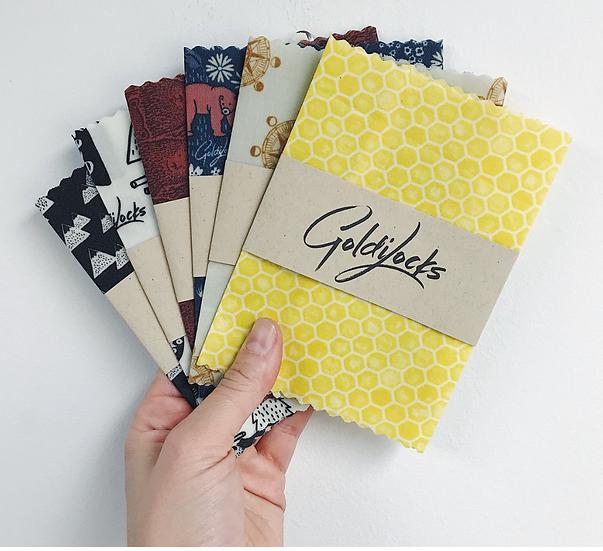 Goldilocks Beeswax Wraps - Single