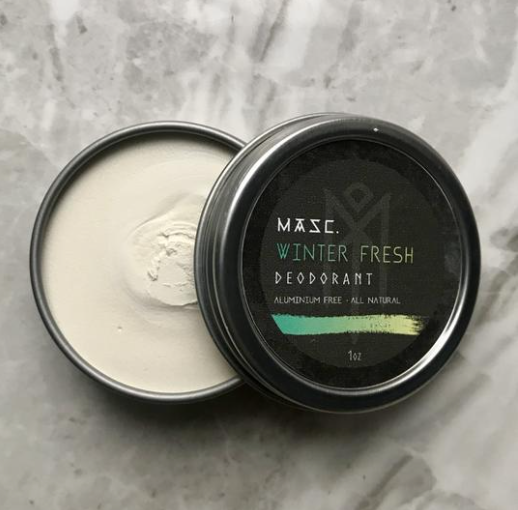 All Natural Cream Deodorant by MASC