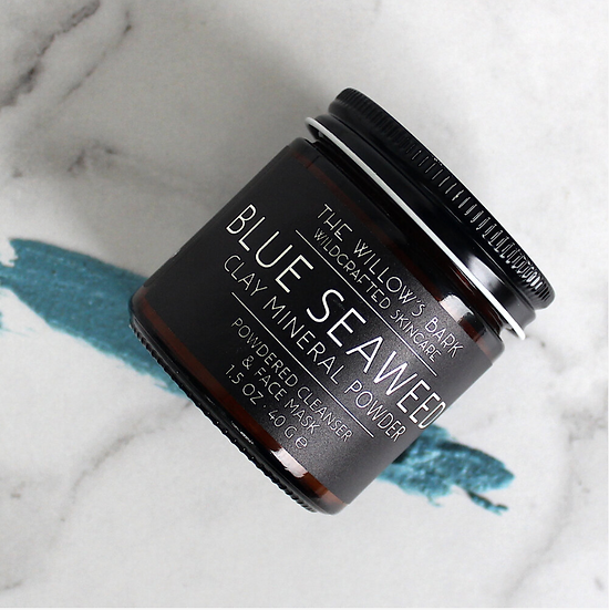 Blue Seaweed Clay Mineral Mask