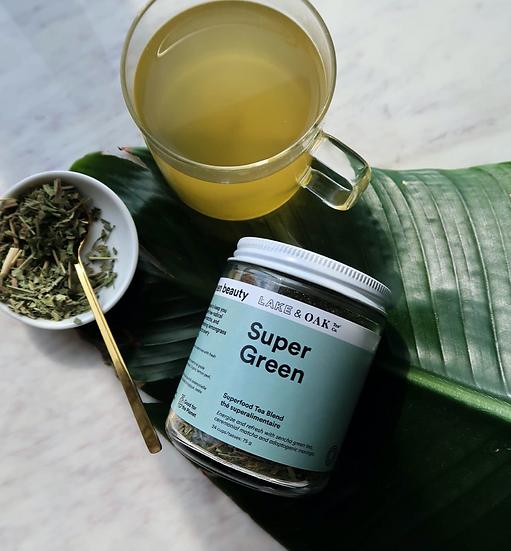 Supergreen by Lake and Oak Tea