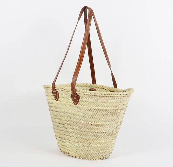 Lisbon Straw French Shoulder Bag