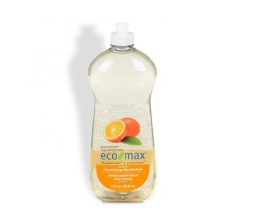 Eco-max Ultra Dish Wash Natural Orange 740ml