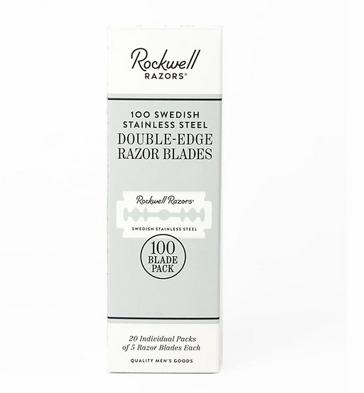 Rockwell Double Edge Razor Blades 100 Pack