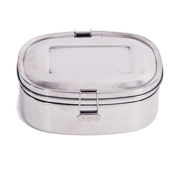ONYX Large Stainless Steel Layered Sandwich Box