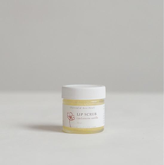 Cardamom Vanilla Lip Scrub