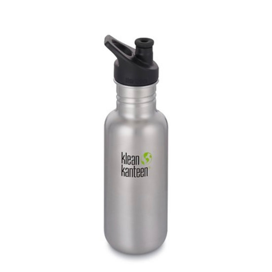 Classic 18oz Water Bottle - Brushed Stainless