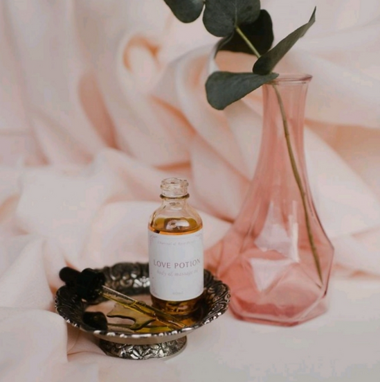 Love Potion Massage and Body Oil