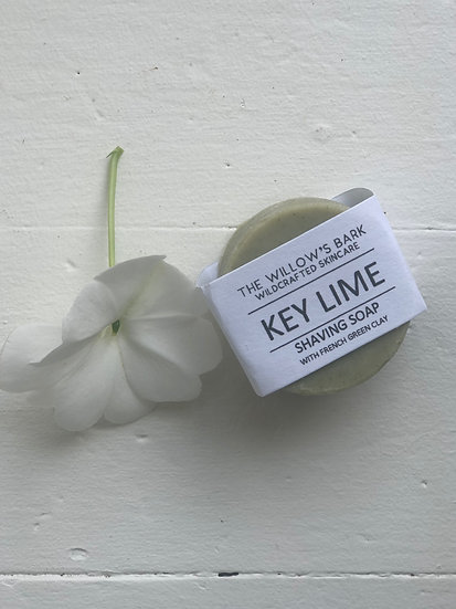 Key Lime Shaving Soap by The Willow's Bark