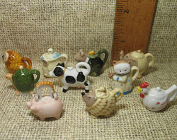 Animal Teapots