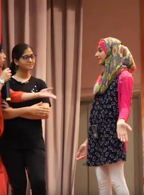 Kely Support Group drama school presentation video