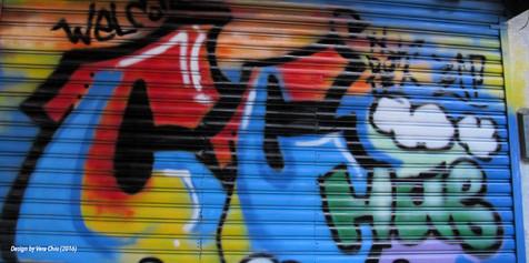 Graffiti sample