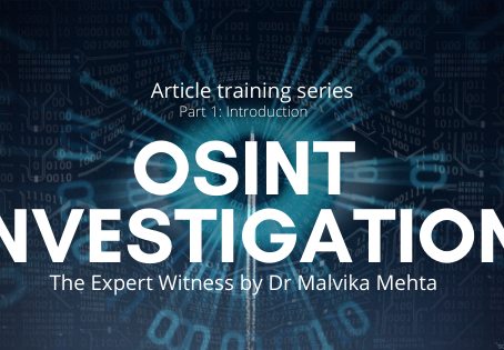 Article Learning Series: Part 1-Introduction to OSINT Investigation (Open Source Intelligence)
