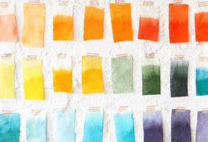 rit dye, color chart, fabric dye, dye mix, the simple farmhouse