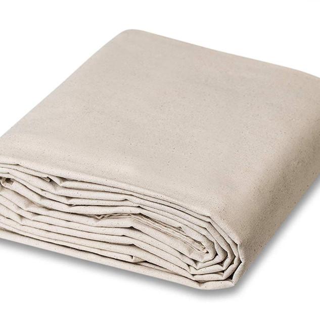 drop cloth curtain panels