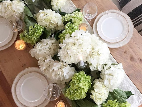 Spring Table Two Ways
