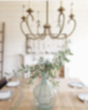 Dining room tour, The Simple Farmhouse