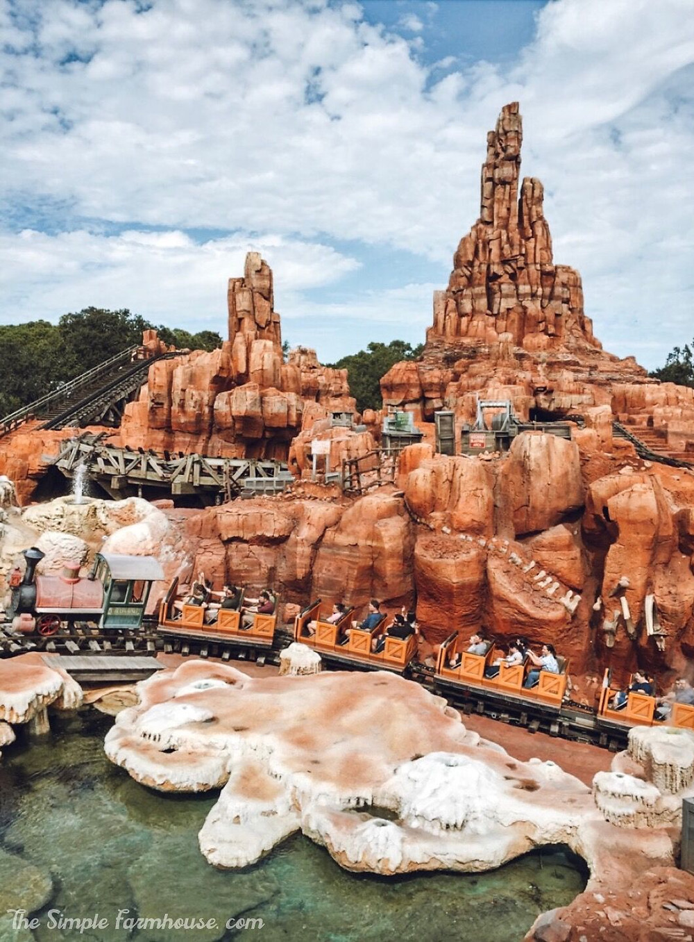big thunder mountain, disney world, magic kingdom, travel, florida, the simple famrhouse