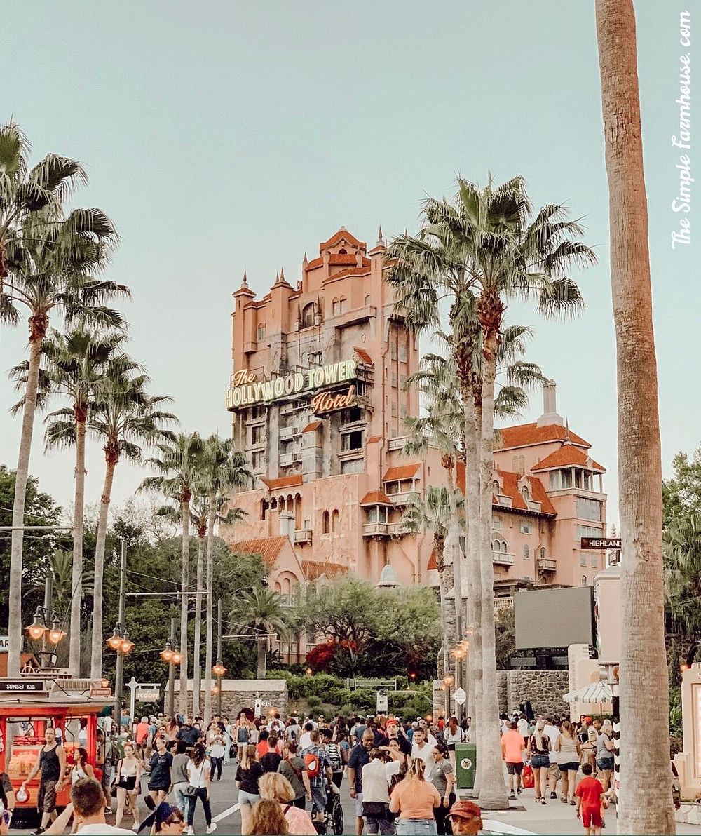 tower of terror, hollywood studios, magic kingdom, florida, disney world, travel, tips and tricks, the simple farmhouse