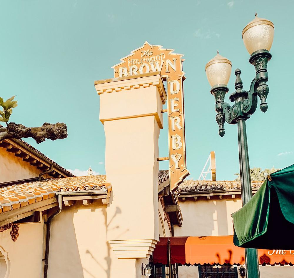 the brown derby, Hollywood Studios, Disney World, travel, dining, restaurants, the simple farmhouse