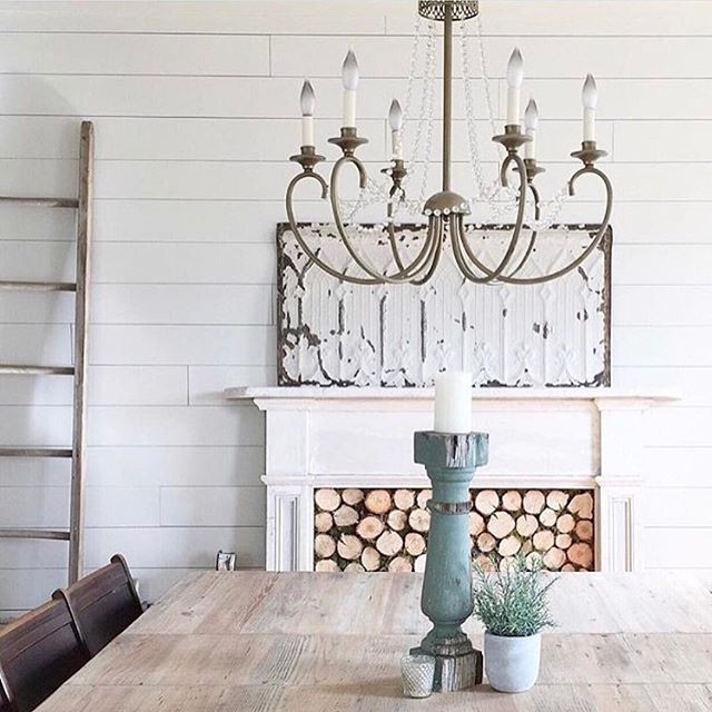 the simple farmhouse, mantel decor, mantel inset, mantel filler, wood slice mantel inset, wood filler for a mantel