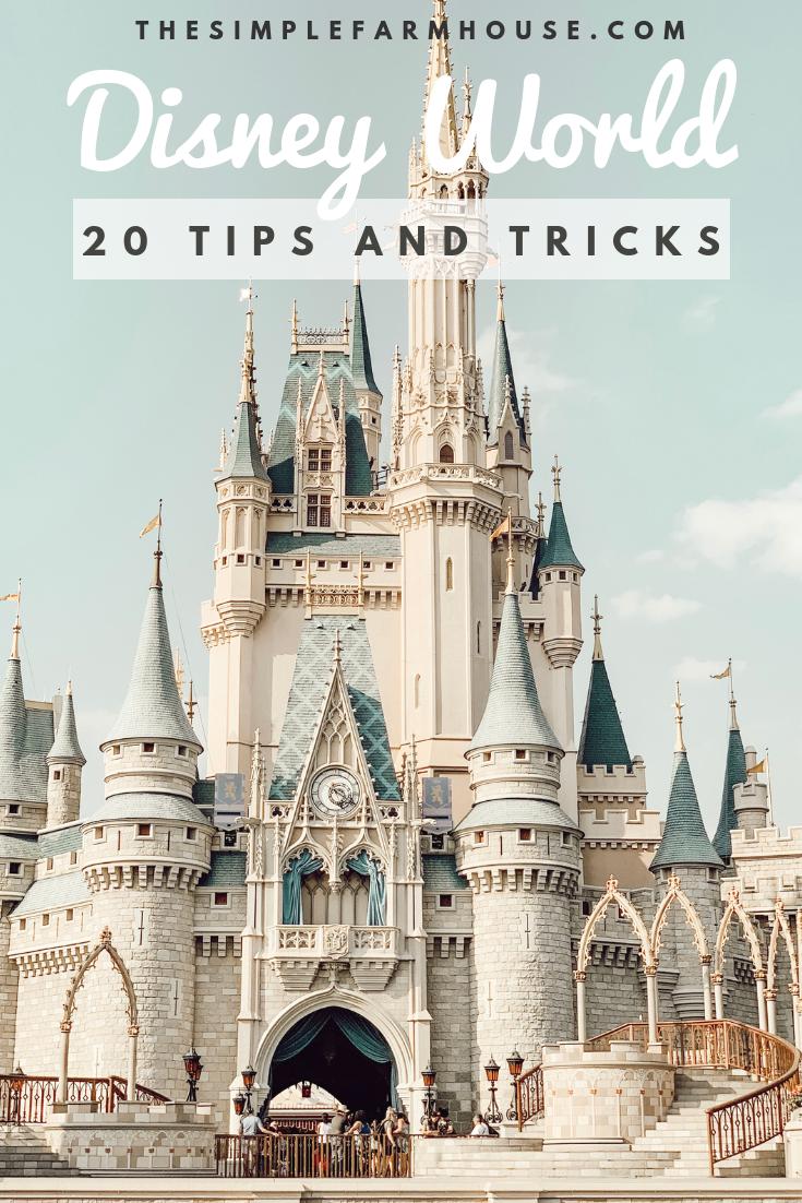 Cinderella's castle, Disney World, Magic Kingdom, travel, tips and tricks, the simple farmhouse