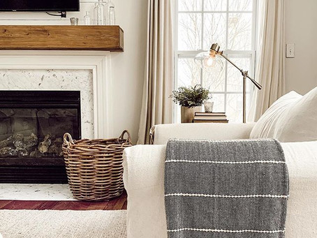 No Sew Drop cloth Slipcovers   $100 DIY Projects
