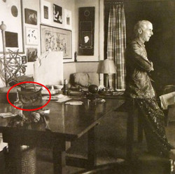 Max Ernst and headrest