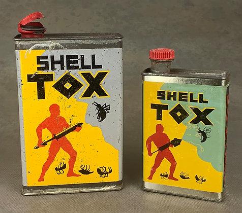 SHELL TOX (bidons) -France $$$