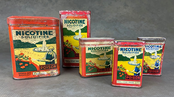 NICOTINE SOLIDIFIEE -France