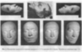 посмертная маска поэта Пушкина, Бруни, Пушкин на смертном одре