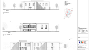 Proposed North & West Elevations