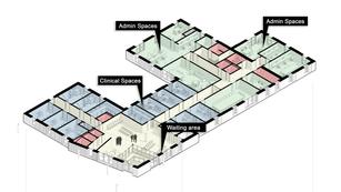 Axonometric first floor