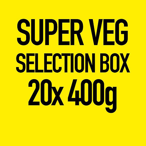 20x 400g Super Veg Selection Box