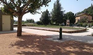 Aménagement de parking et voirie à Vérin dans la Loire