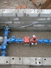 Adduction d'eau potable à Pélussin