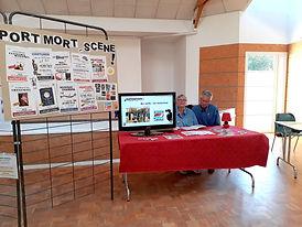 Port Mort en Scène au forum des associations de PM