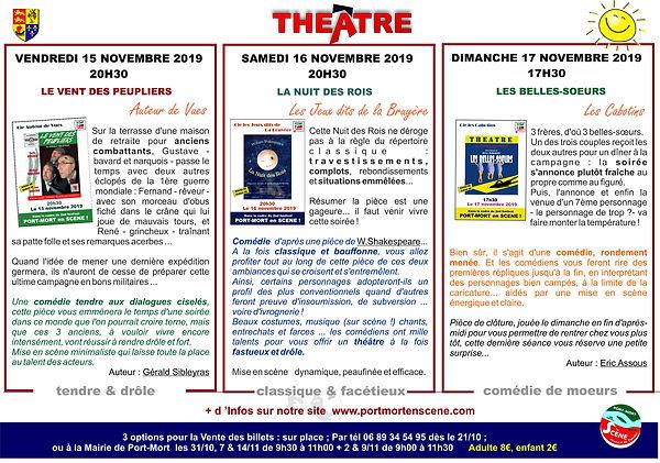 Théâtre 2019 à Port-Mort