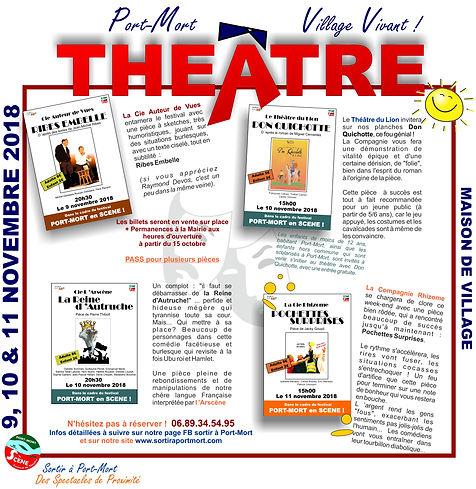 Théâtre 2018 à Port-Mort