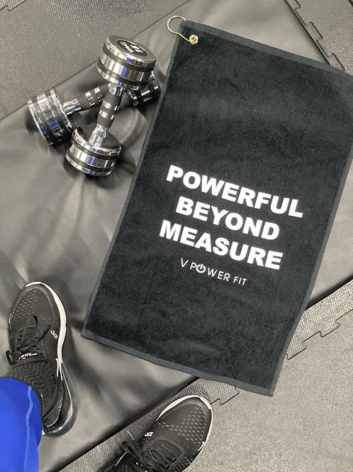 Powerful Beyond Measure Fitness Towel