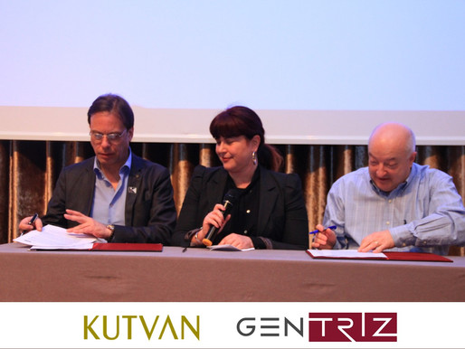 STRATEGIC COOPERATION BETWEEN                       KUTVAN GROUP AND GEN-TRIZ