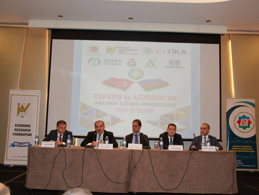 NEW HORIZONS / TURKEY - AZERBAIJAN             ECONOMIC RELATIONS SYMPOSIUM