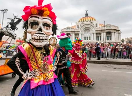 El gran desfile internacional de Día de Muertos en la Ciudad de México