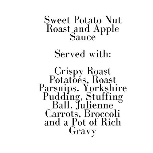 Sweet Potato Nut Roast (Sunday)