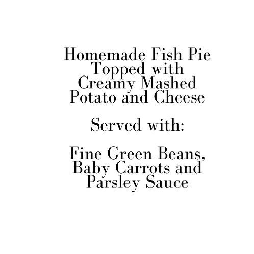 Homemade Fish Pie (Sunday)