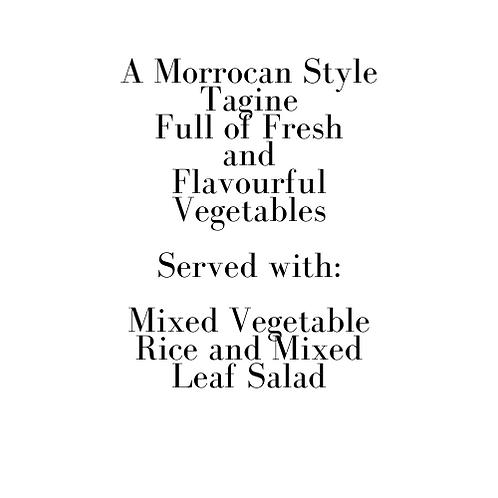 Vegetable Tagine (Saturday)