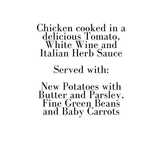 Italian Chicken (Friday)